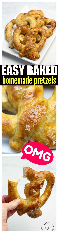Easy Baked Homemade Pretzels: Pinterests Greatest Homemade Pretzel Recipe