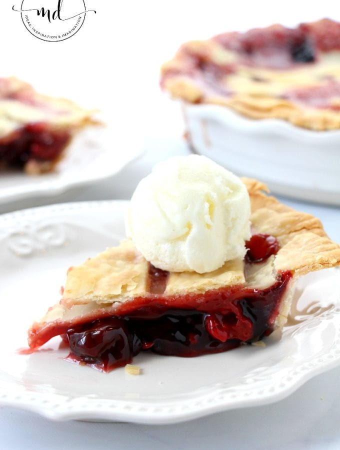 Classic Cherry Pie Recipe | Warm, Flaky & Surprisingly Easy