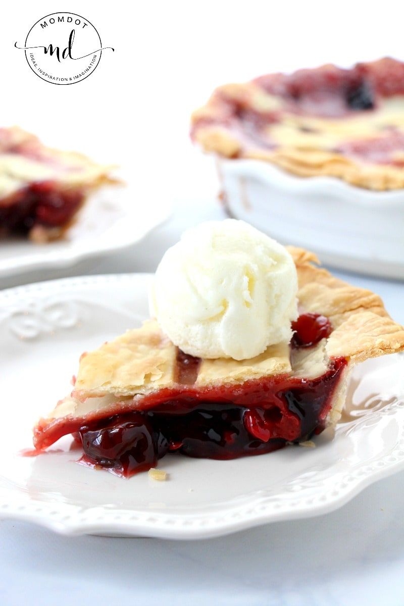 Easy Classic Cherry Pie Recipe
