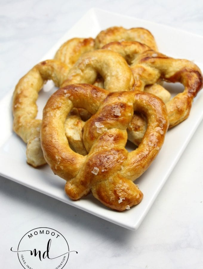 Easy Baked Homemade Pretzels