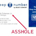 Sleep Number Mattress: FAIL!