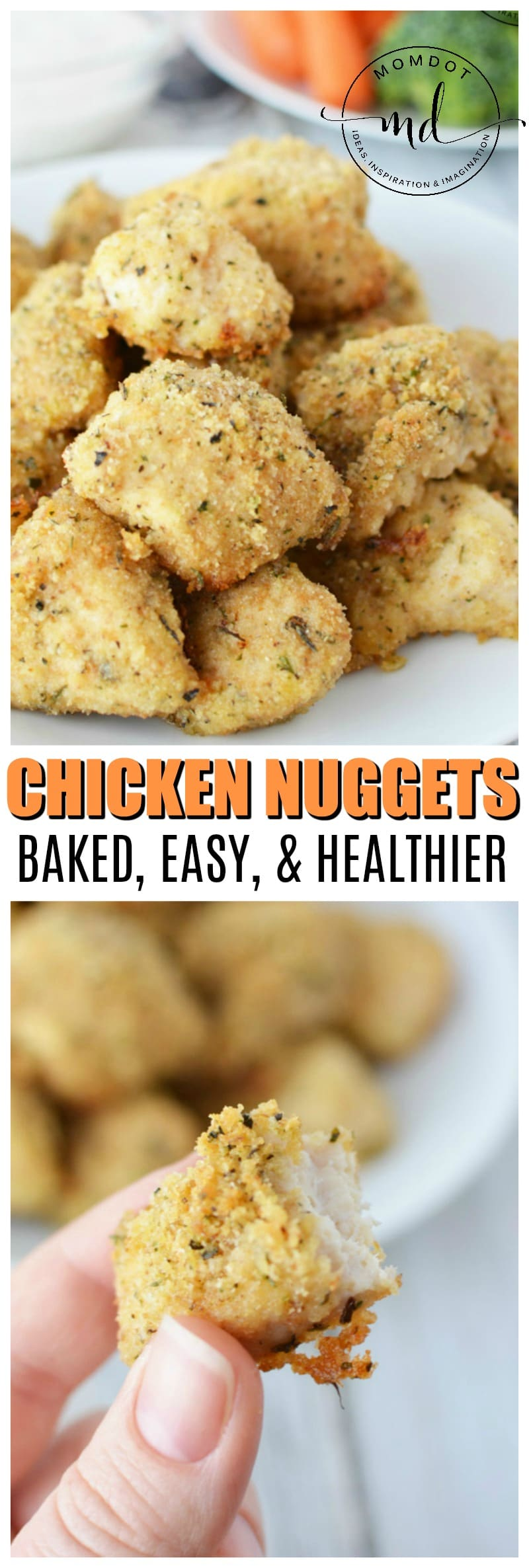 baked nuggets