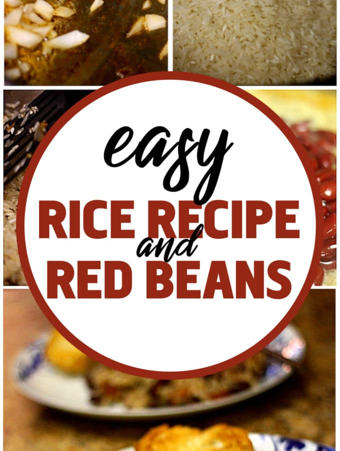 Easy Red Beans and Rice Recipe…and some charlotte