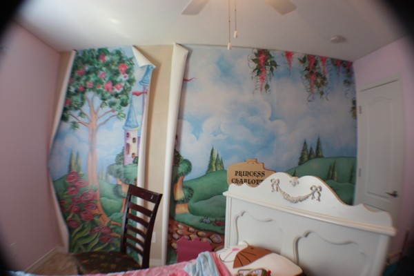 Charlotte's Wall Mural…Remodeling continues