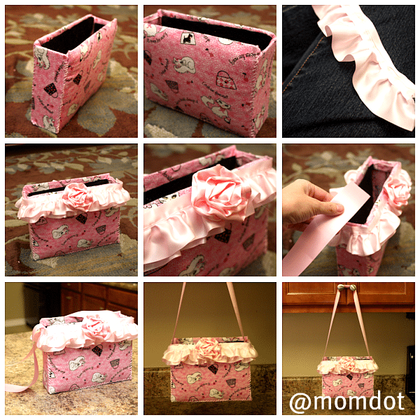 How to make a {Girly} purse