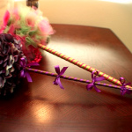 How to Make a Fairy Flower Wand