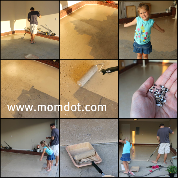 How to refinish your garage floor for Do it yourself flooring