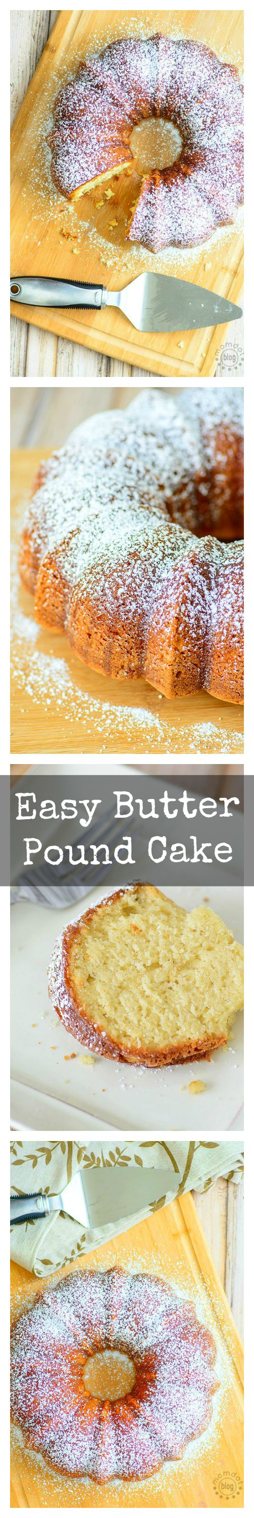 easy butter pound cake recipe