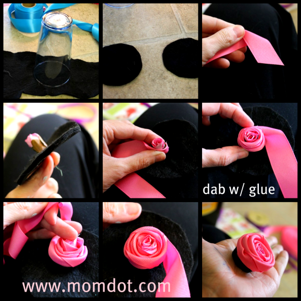 diy no sew ribbon flowers - photo #14