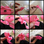 How to make a Ribbon Rosette (tutorial)