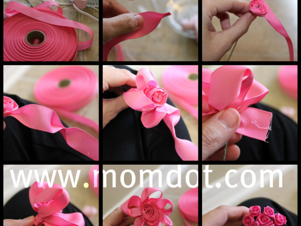 how_to_make_ribbon_rosette