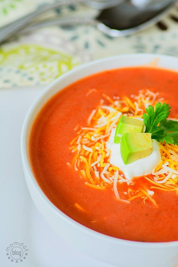 Salsa Soup Recipe, one of the easiest recipes you will make for a perfect Taco night without the taco