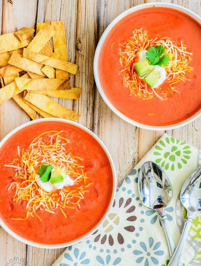 15 Minute Salsa Soup