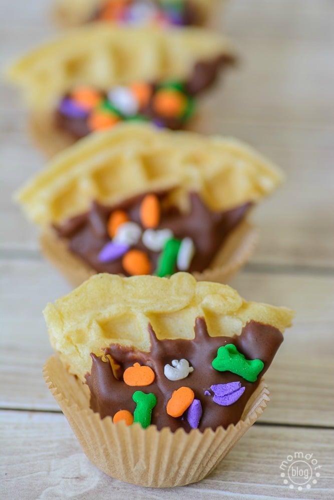 tasty waffle treats