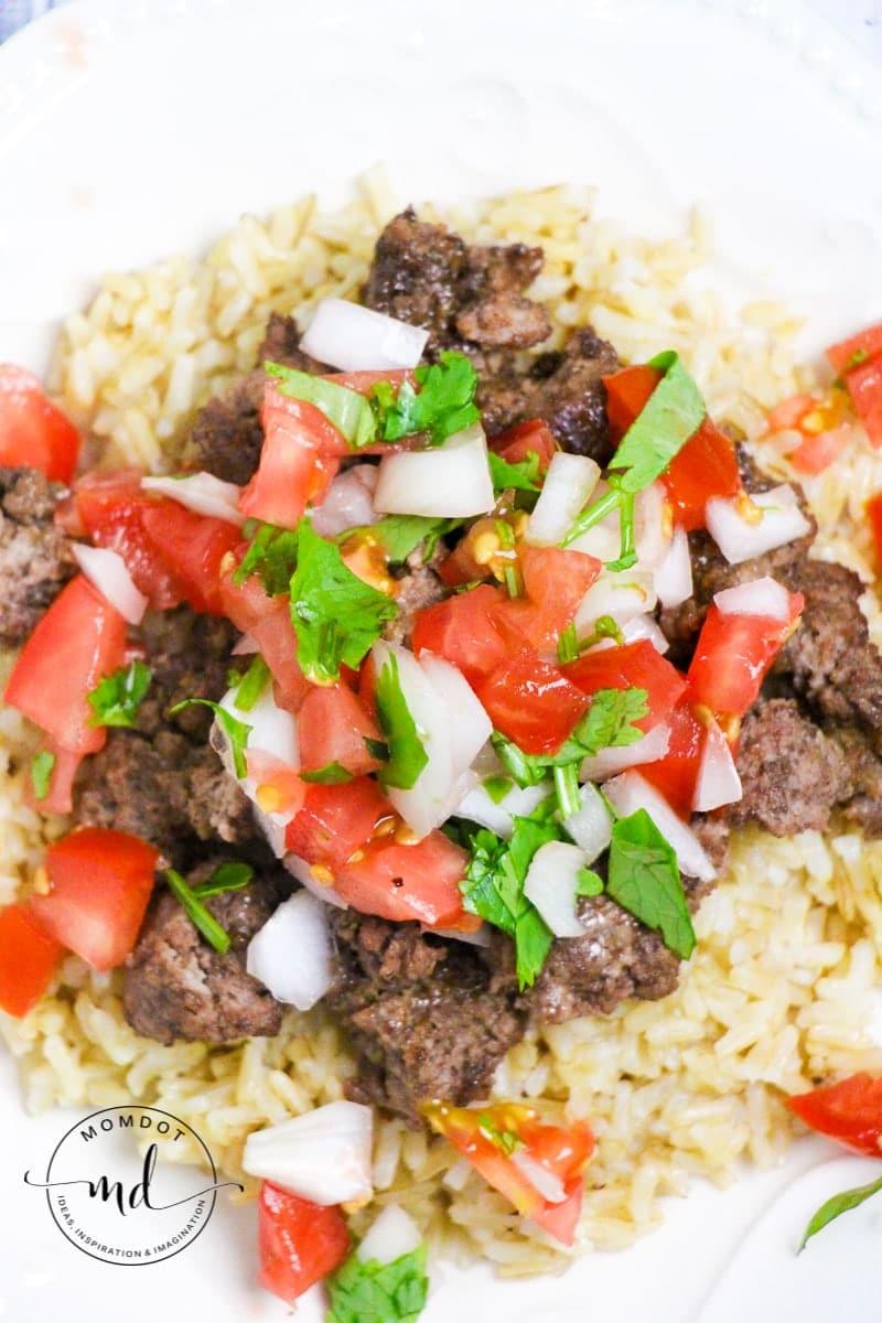 Stacked Rice Bowls Tex Mex Bowl recipe | Fajita Bowl | Tex Mex Recipe Bowl | Tex-Mex Rice Bowl