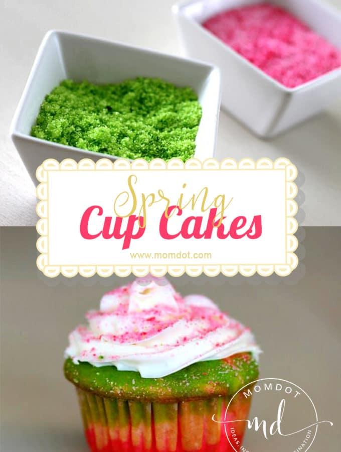 Spring cupcakes..a visual prep