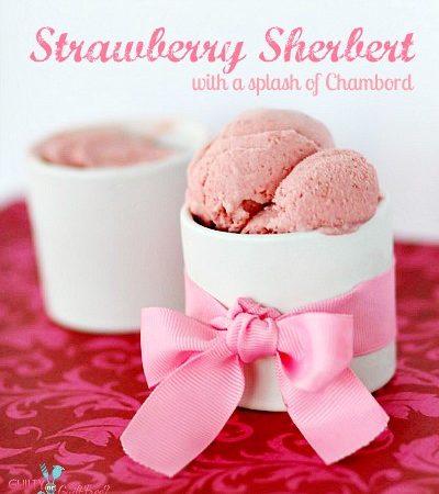 Strawberry Sherbert Chambord Recipe