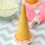 Princess Party Hats (Ice Cream Treat)