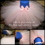 Tutu Hairbow Holder Instructions (Step 3)
