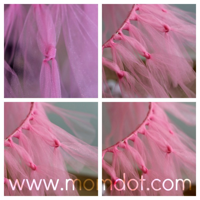 how to make a tutu chandelier DIY Crafting Project for Inspiration | MomDot.com