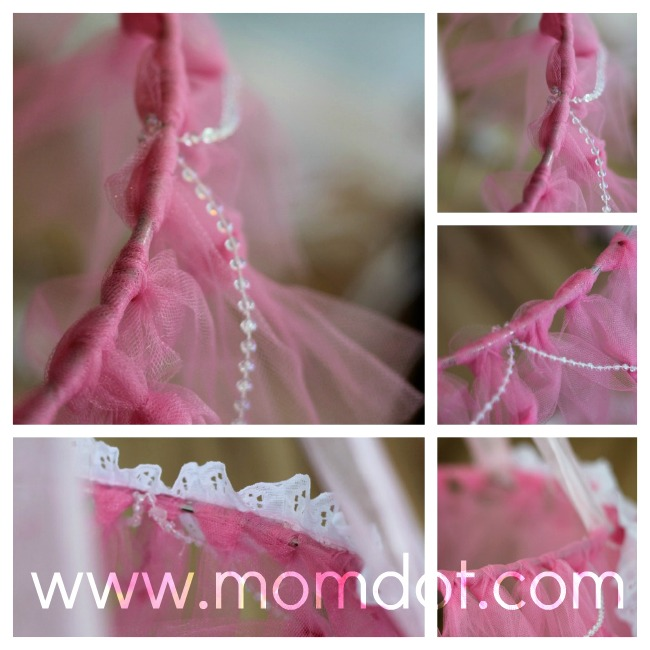 How to make a tutu chandelier