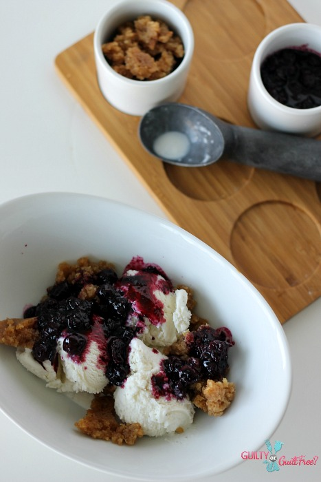 Blueberry Beignet Crumble Recipe