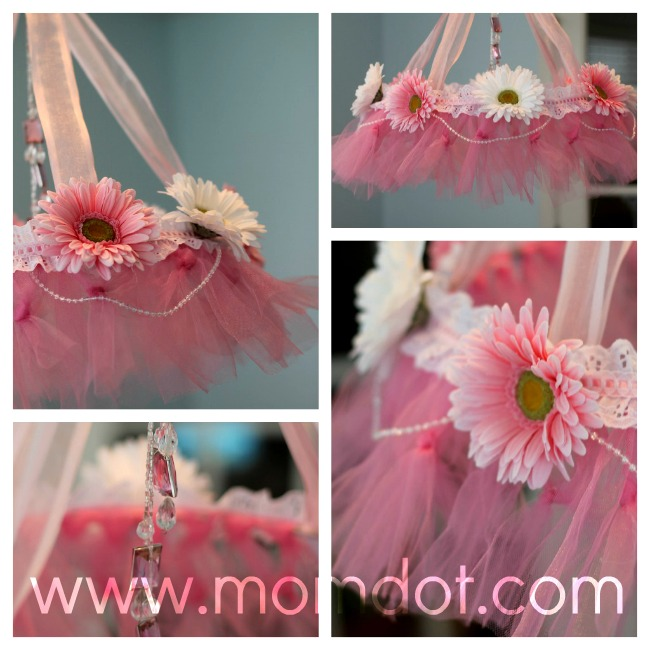 How to make a tutu chandelier your tutu chandelier aloadofball Image collections