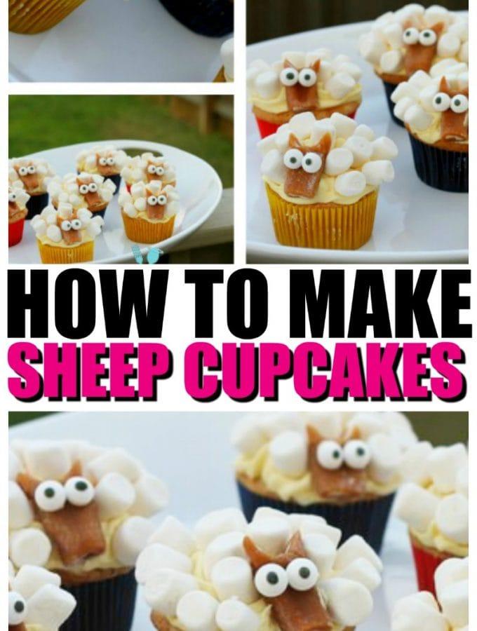 Sheep Cupcakes Tutorial