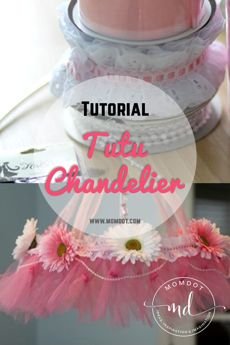 How to make a tutu chandelier arubaitofo Image collections