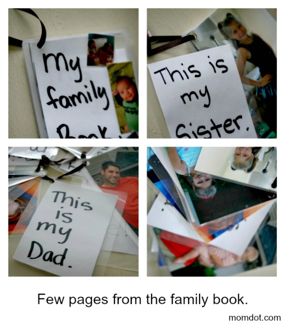 how to make a flip book for your toddler