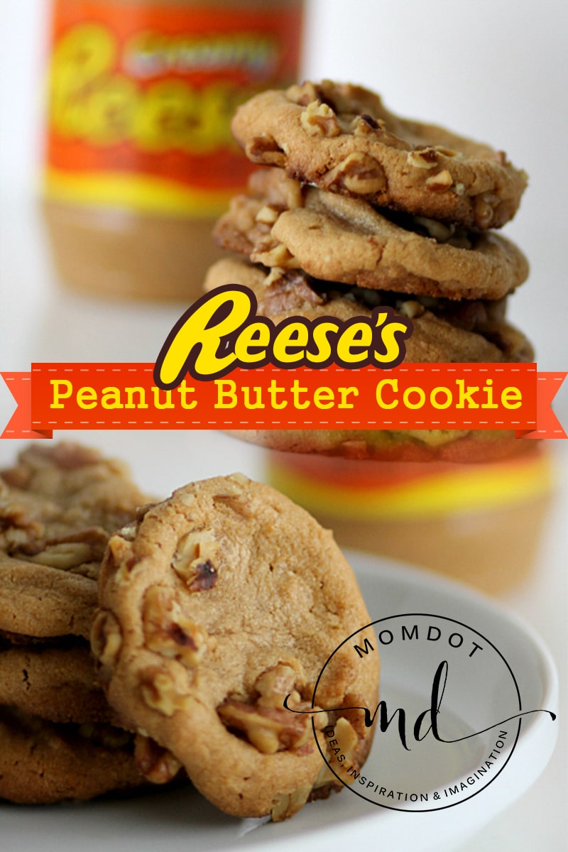 Peanut Butter Cookies Made With Reese S No Flour Cookie Recipe