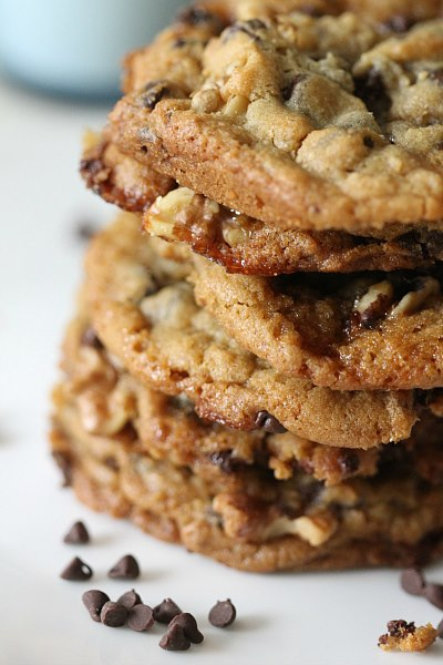 chocolate chip caramel cookie recipe