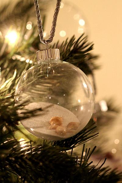 Beach Themed Christmas Ornaments Diy