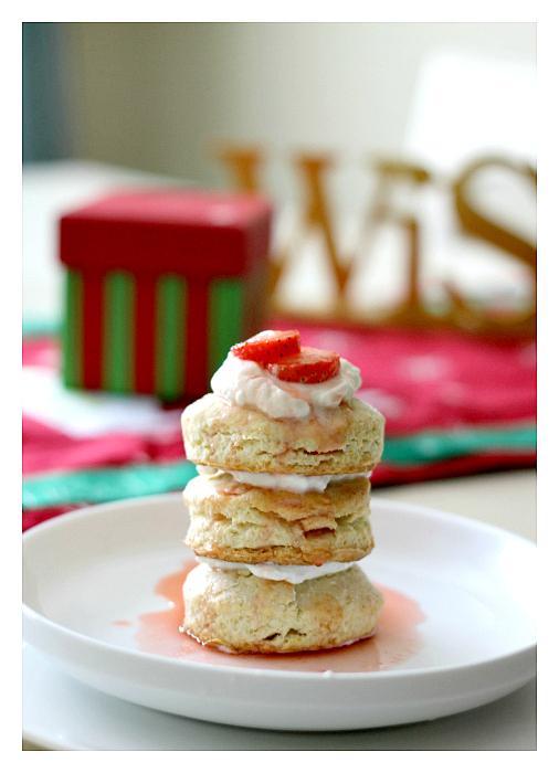 Organic Strawberry Shortcake Recipe (and win!)