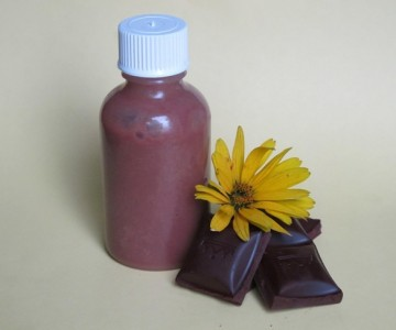 How to make a chocolate shampoo