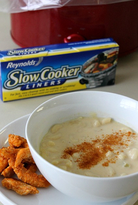 mac n cheese soup recipe