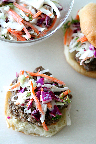 Slaw with Lime and Cilantro Recipe