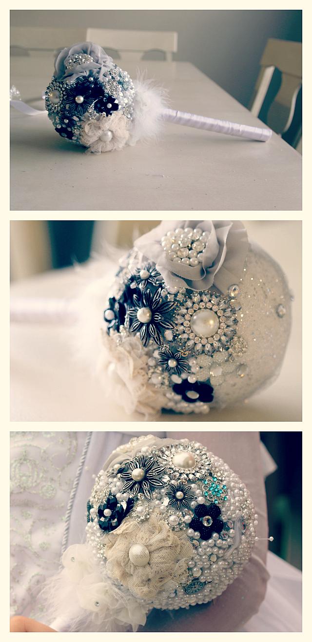 Wedding Bouquet Beaded Bride Tutorial DIY, Wedding Costumes and more!