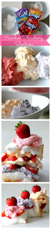 Rainbow Strawberry Shortcake Kool-Aid Recipe