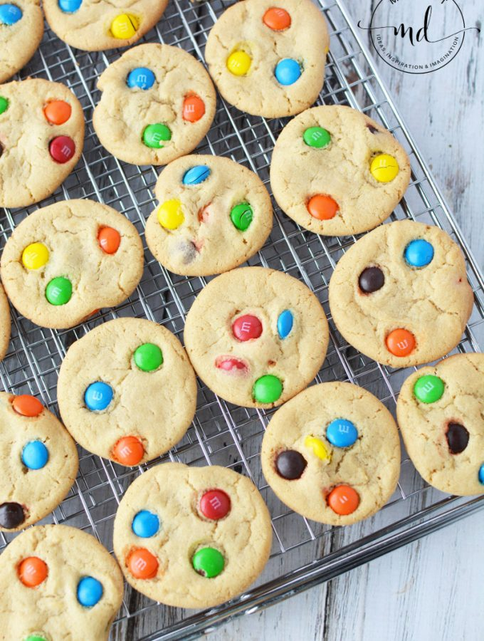 M&M Cookies Recipe for Soft and Easy Homemade Cookies