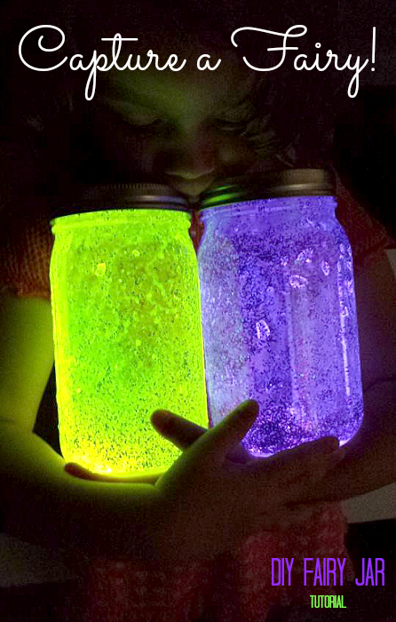glow in the dark jar