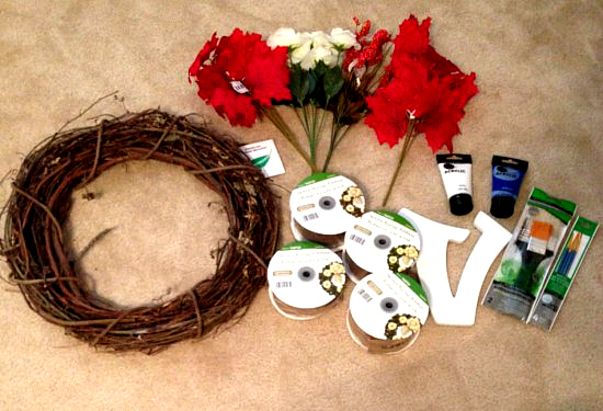 How to make a fall door wreath , Crafting DIY   Momdot.com