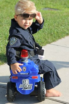 toddler police costume