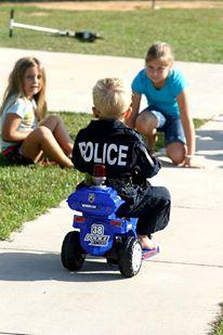 toddler police