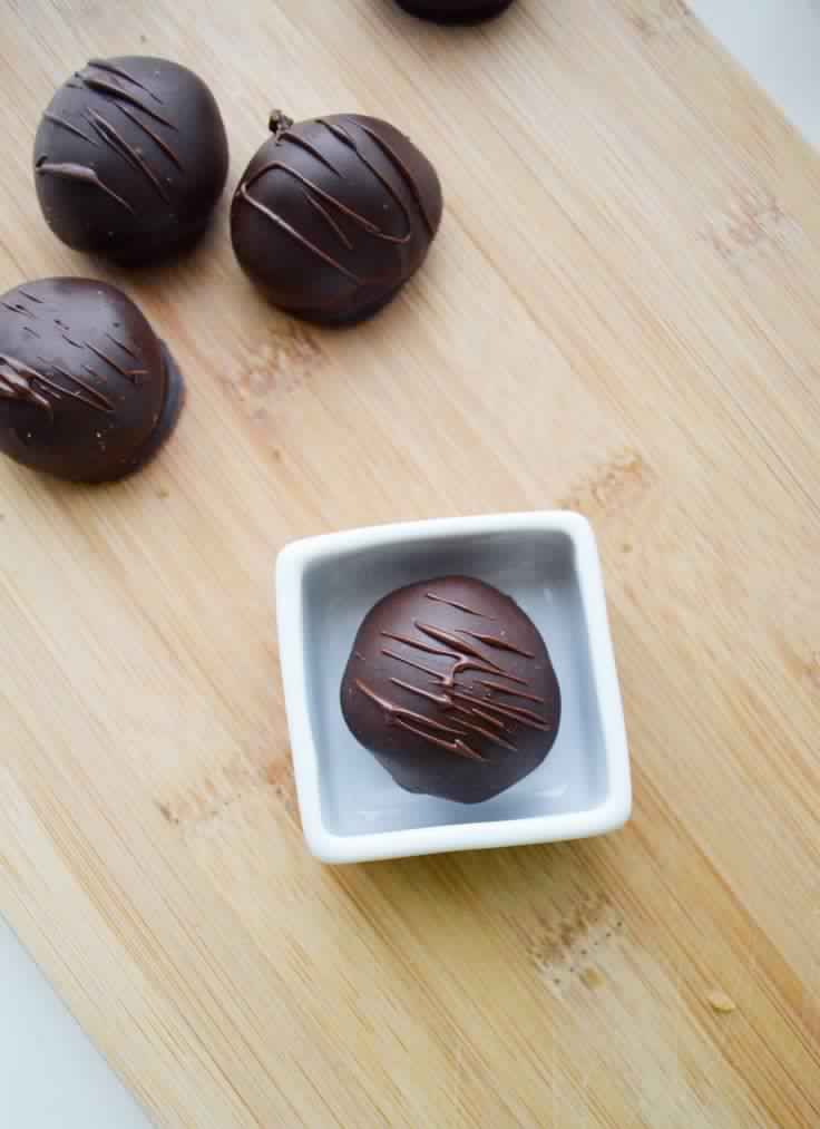 Dark Chocolate Coconut Bon Bon Recipe, create your own custom box of chocolates for holidays or loved ones