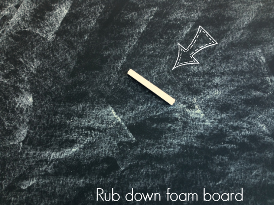 DIY Chalkboard perfect for kids rooms, playrooms, and fun! Inexpensive crafting