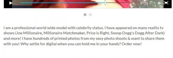 professional model