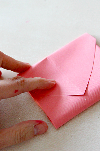 How to create an Envelope with a Heart