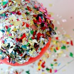 Modge Podge Glitter Bowl DIY