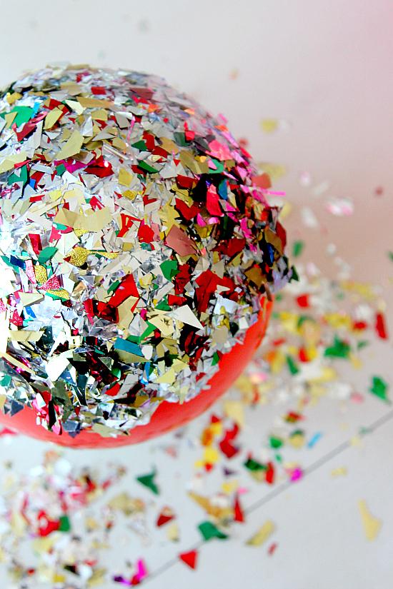 Modge Podge Glitter Bowl Diy